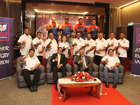 Asia Rugby Under 18 Boys' Returns to Johor